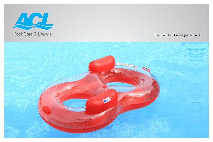 Inflatable Duo Water Lounge Chair ...