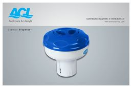 Deluxe Chemical Dispenser for Tablets